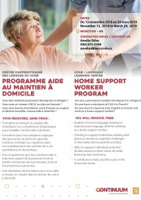HOME SUPPORT WORKER PROGRAM